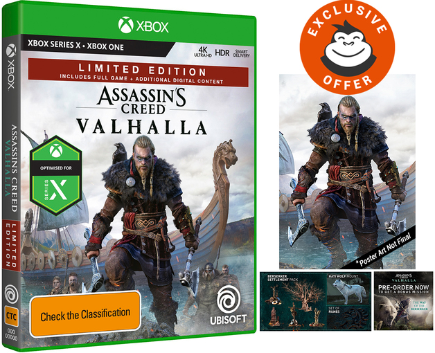 Assassin's Creed Valhalla Limited Edition for Xbox One