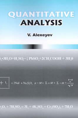 Quantitative Analysis by Vladimir Alexeyev