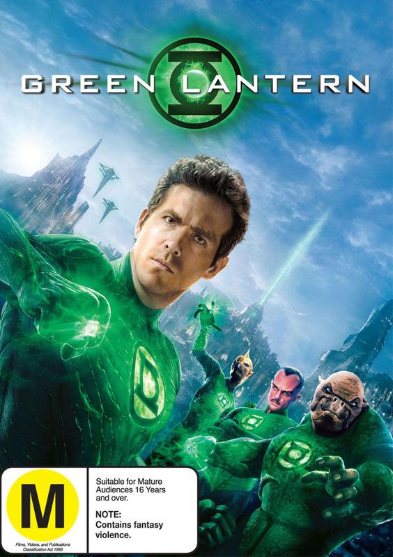 Green Lantern on DVD