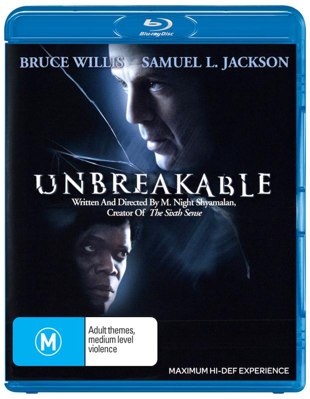 Unbreakable on Blu-ray