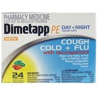 Dimetapp PE Day & Night Cough/Cold/Flu (24's)