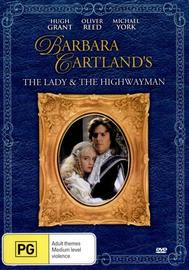 Barbara Cartland's The Lady and the Highwayman on DVD