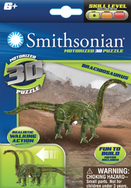 Smithsonian: Dinosaur Wind Up Puzzle - Assortment