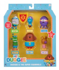 Hey Duggee: Collectable Figurine Set - Super Heroes