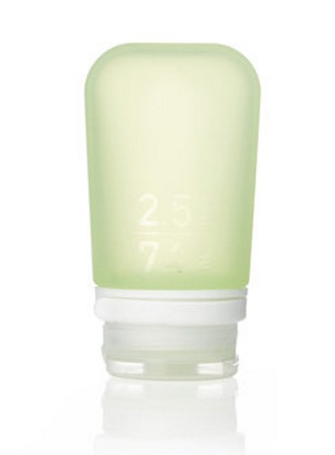 GoToob+ Green Silicone Travel Bottle - Medium (74ml)
