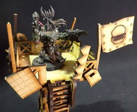 TTCombat: Tabletop Scenics - Orc Watchtower image