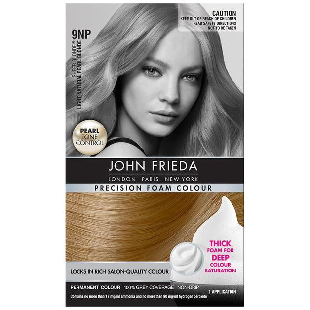 John Frieda Precision Foam Colour - 9NP Light Natural Pearl Blonde