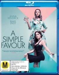 A Simple Favor on Blu-ray