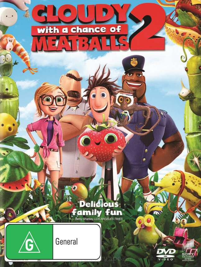 Cloudy with a Chance of Meatballs 2 on DVD image