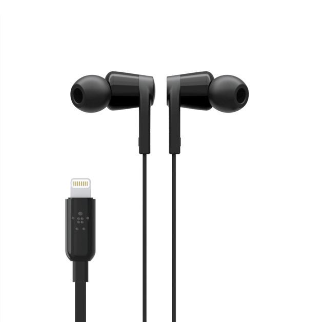 Belkin: Lightning Connector In-Ear Headphones - Black