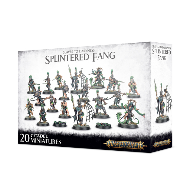 Warhammer Age of Sigmar Slaves To Darkness: The Splintered Fang