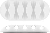 Goobay: Cable Management - Five Piece Set (White)