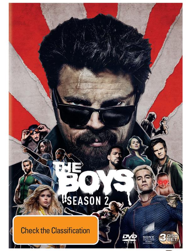 The Boys: Season 2 on DVD
