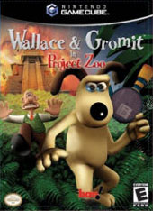 Wallace & Gromit in Project Zoo for GameCube