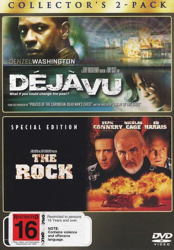 Deja Vu / The Rock - Collector's 2-Pack (2 Disc Set) on DVD