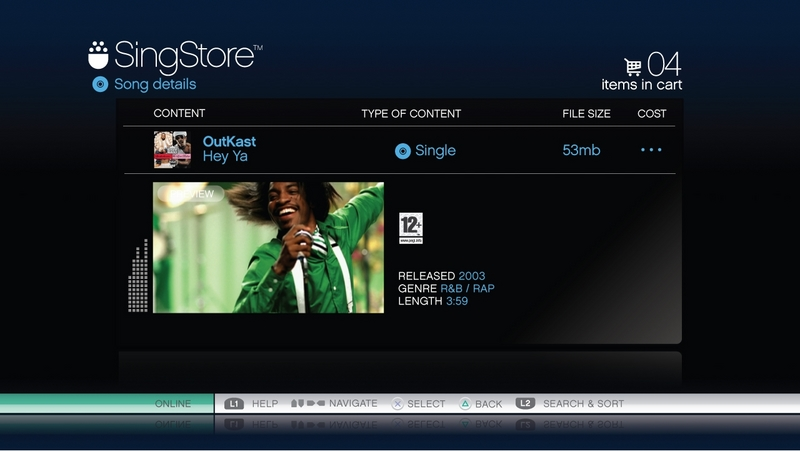 SingStar (Game Only) for PS3 image