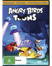 Angry Birds Toons: Season 3 - Volume 2 on DVD