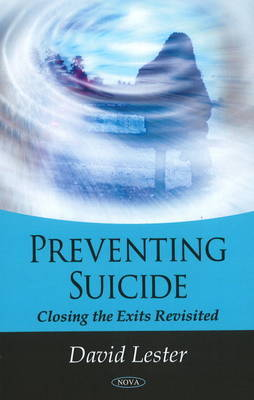 Preventing Suicide by David Lester image