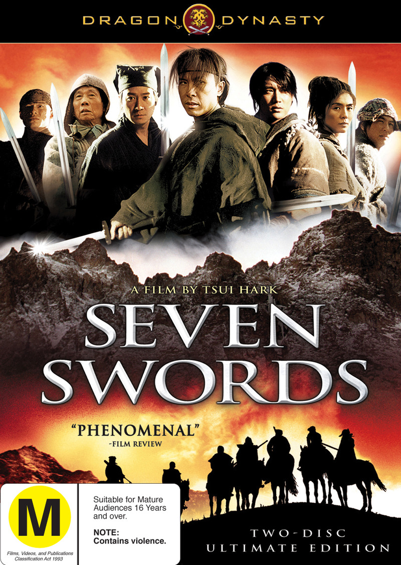 Dragon Dynasty: Seven Swords (2 Disc Set) on DVD image