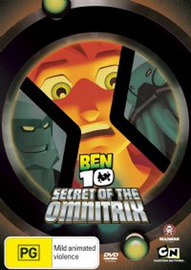 Ben 10 - Secret Of The Omnitrix on DVD
