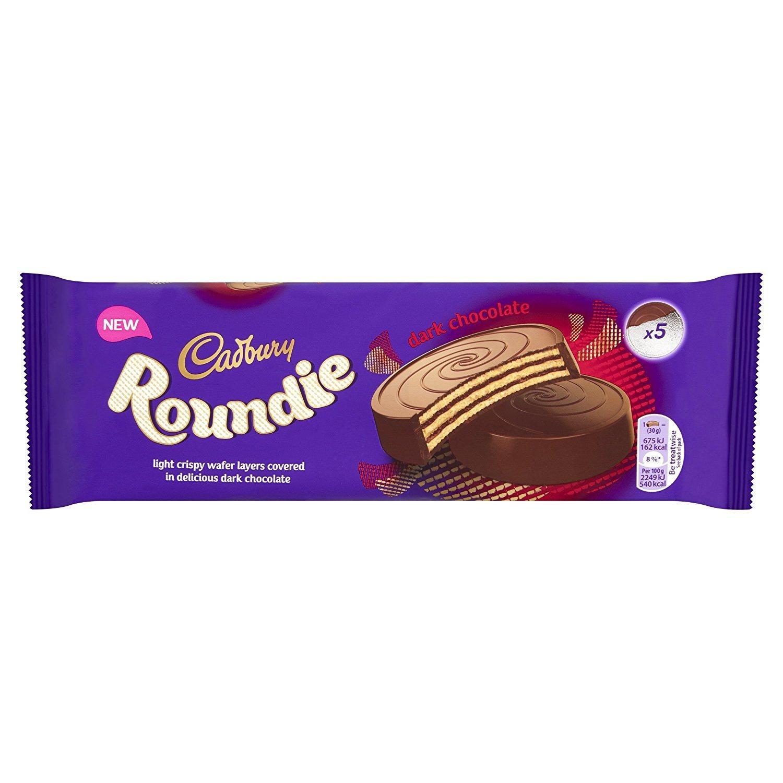 Cadbury Roundies Dark Chocolate Wafer 150g image