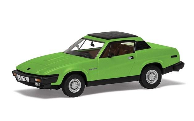 Corgi: 1/43 Triumph TR7 FHC (Green) - Diecast Model