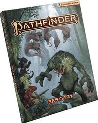 Pathfinder RPG: Bestiary Hardcover (2nd Edition) by Paizo Staff