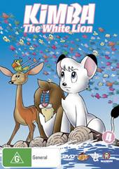 Kimba The White Lion - Vol 4 on DVD
