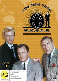Man From U.N.C.L.E Season 1 on DVD