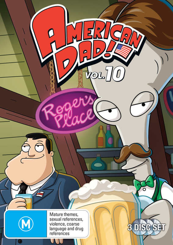 American Dad - Complete 10th Season on DVD
