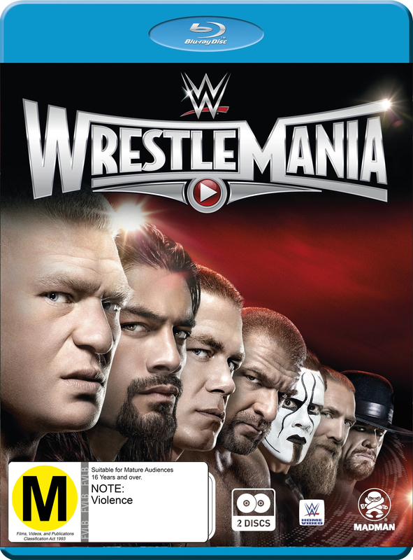 WWE: Wrestlemania 31 on Blu-ray