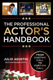 The Professional Actor's Handbook by Julio Agustin image