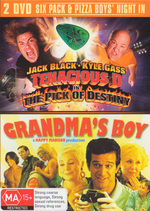 Tenacious D In The Pick Of Destiny / Grandma's Boy (2 Disc Set) on DVD