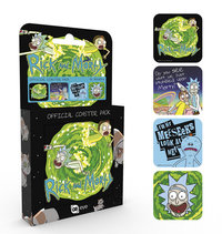 Rick and Morty - Coaster Set