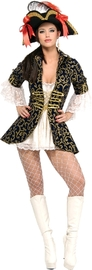 Pirate Queen - Secret Wishes Costume (Small)
