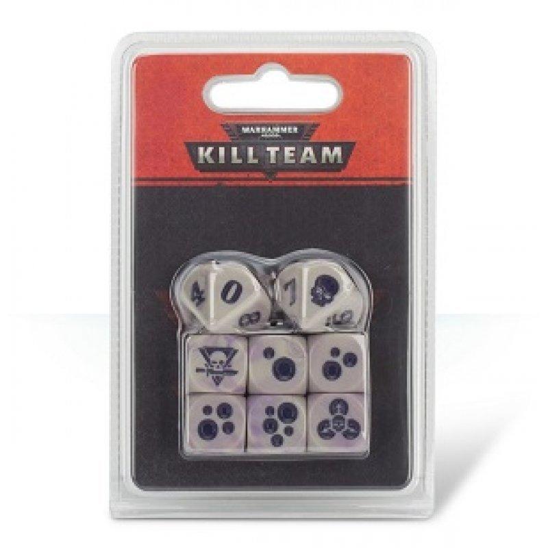 Warhammer 40,000: Kill Team: Gellerpox Infected Dice image