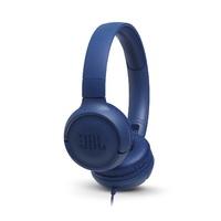 JBL T500 Wired Headphones - Blue
