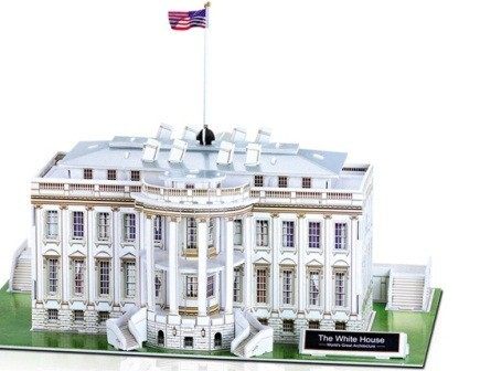 3d Puzzle The White House Toy At Mighty Ape Nz