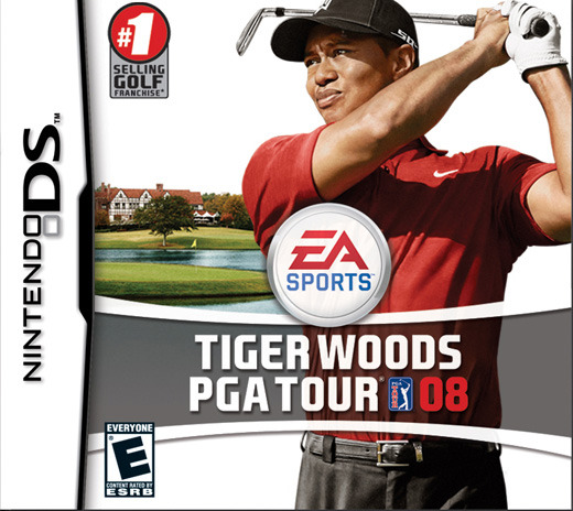 Tiger Woods PGA Tour 08 for Nintendo DS