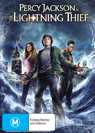 Percy Jackson & The Lightning Thief on DVD