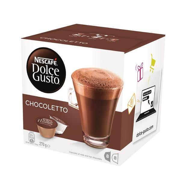 Nescafe: Dolce Gusto Chocoletto Capsules