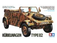 Tamiya 1/35 German Kubelwagen Type 82 - Model Kit image
