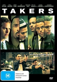 Takers on DVD