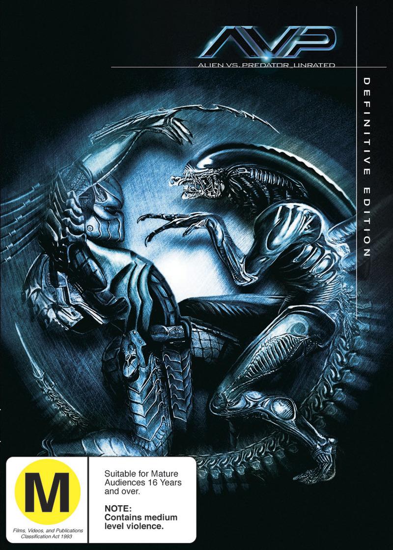 Alien Vs. Predator - Definitive Edition (2 Disc Set) on DVD image