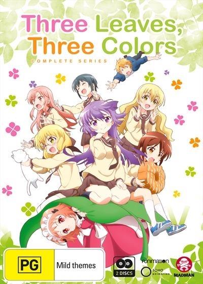 Three Leaves, Three Colors Complete Series on DVD image
