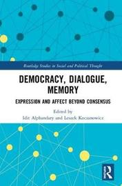 Democracy, Dialogue, Memory image