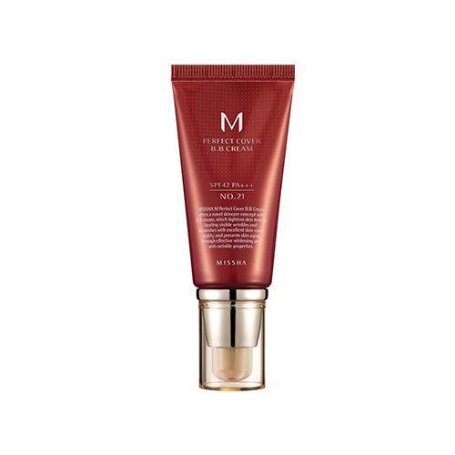 Missha - M Perfect Cover BB Cream SPF42/PA+++ No.21/Light Beige (50ml)