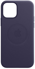 Apple iPhone 12   12 Pro Leather Case with MagSafe - Deep Violet