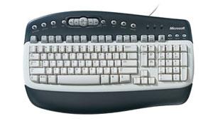 Microsoft Multimedia Keyboard PS2 Single image