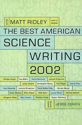 Best American Science Writing 2002 by Matt Ridley